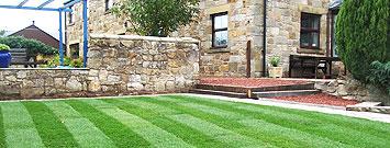 Turfed Lawn